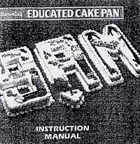 burvelle educated cake pan instruction manual