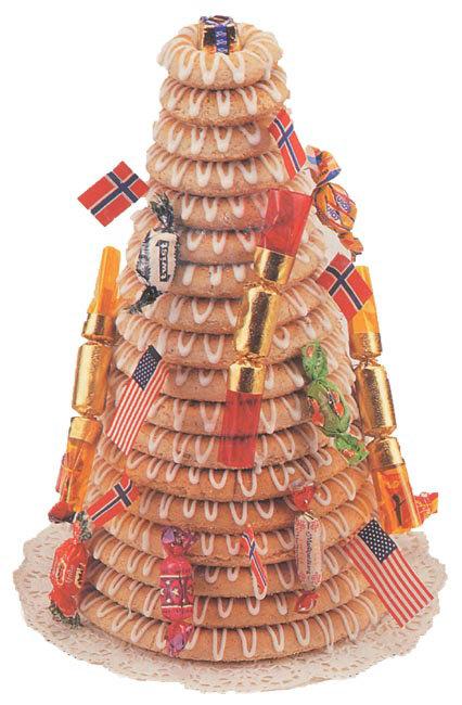 Kransekake Norwegian Wedding Cake Recipe & Baking Rings